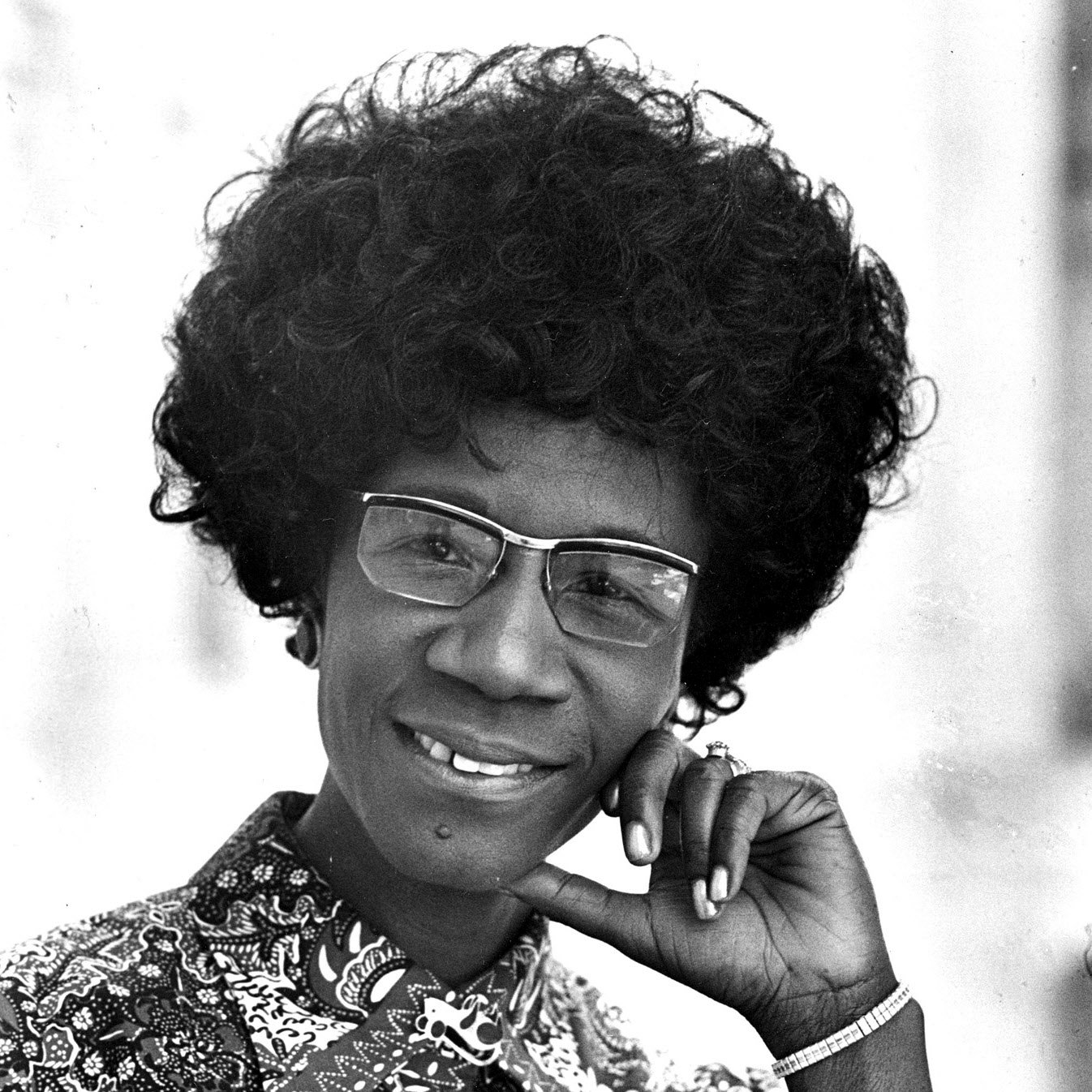 Shirley Chisholm : She was the first African-American congresswoman