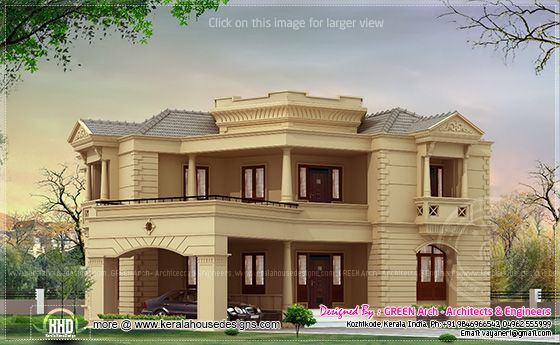 2800 sq-ft villa design