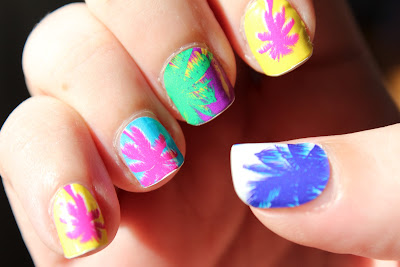Nail Rock Nail Wraps - Palm Trees
