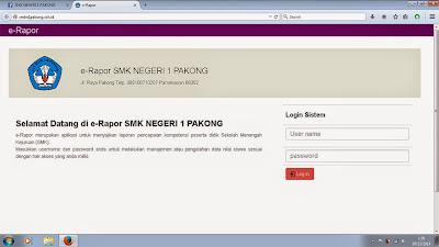 e-Rapor SMK Negeri 1 Pakong