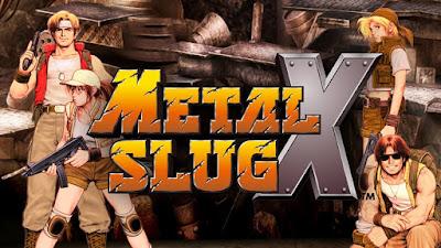 Download METAL SLUG X v1.1 APK For Android Gratis