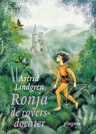 Ronja de roversdochter, Astrid Lindgren cover