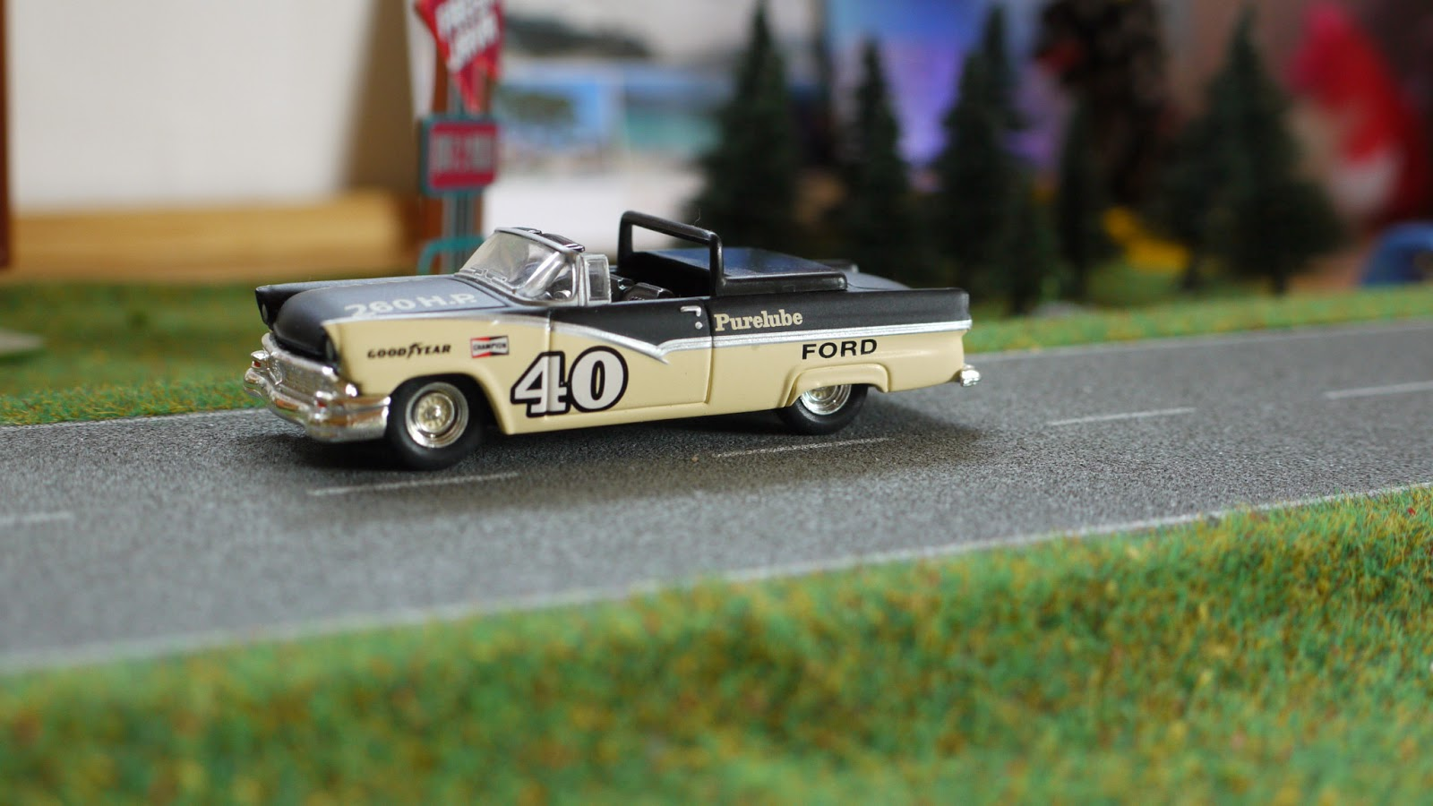 1955 ford fairlane crown victoria blog cars on line - 1956 Ford Crown Victoria Hot Wheels