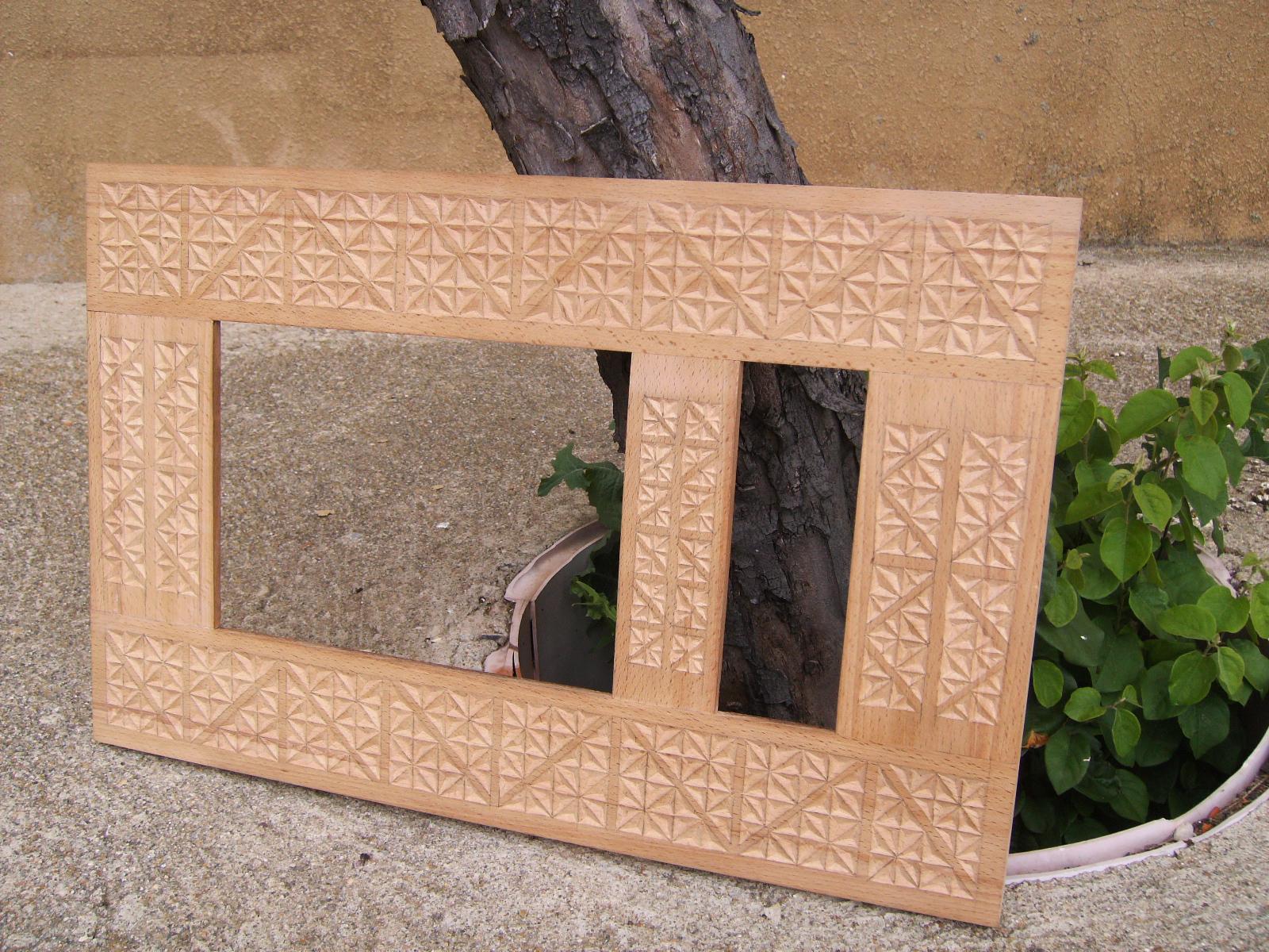Marcos de madera tallados - Marcos de madera ...