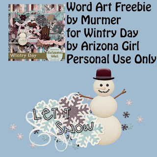 Wintry Day by Arizona Girl + Freebie