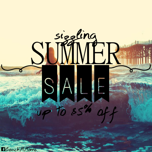 Summer Sale 2014 Summer Vacation is Upon us And