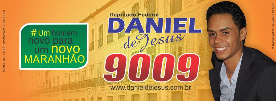 Deputado Federal Daniel de Jesus 9009