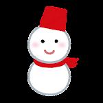 天気のマーク「雪だるま」