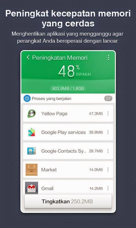 Aplikasi Untuk Android Clean Master (Cleaner) Terbaru Gratis - 5
