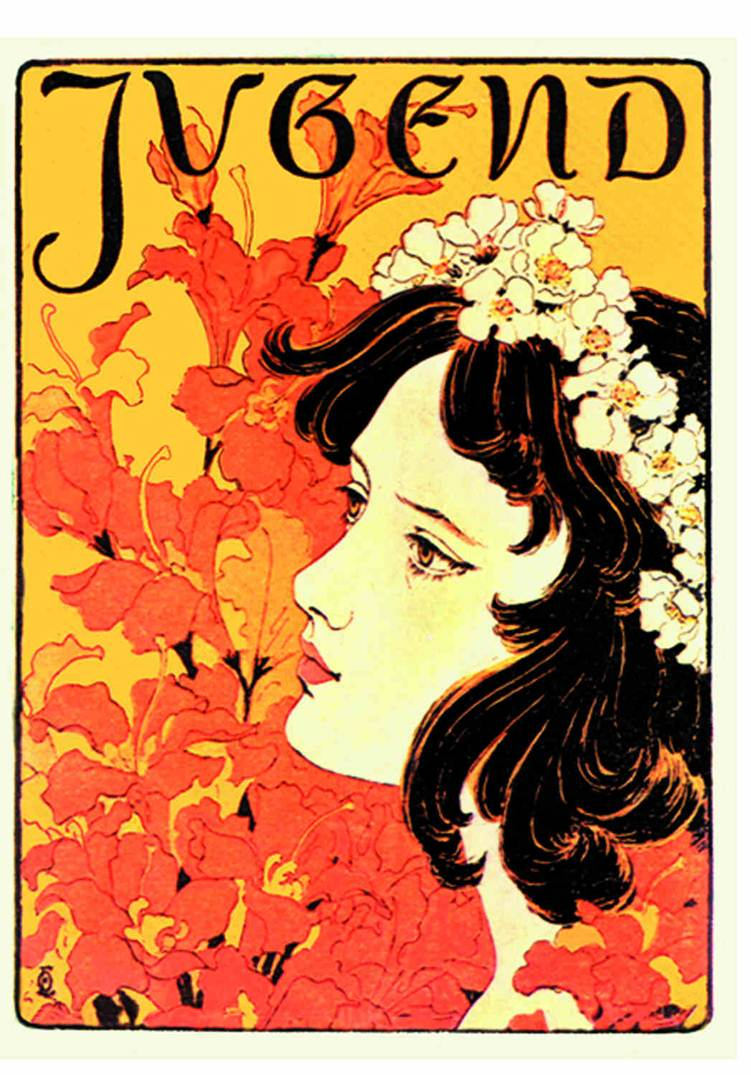 Art Nouveau History Of Graphic Design