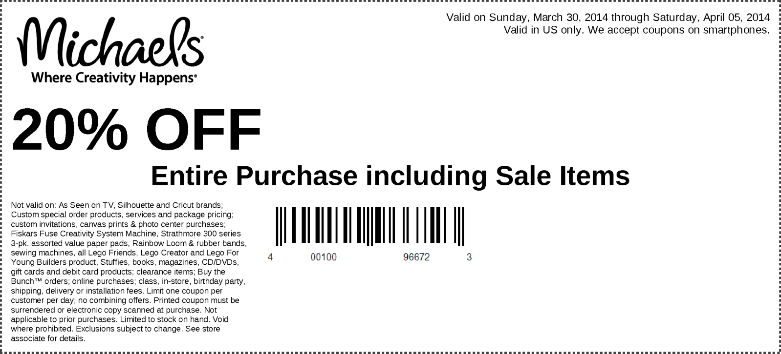 michaels weekly coupon chicago flower garden show