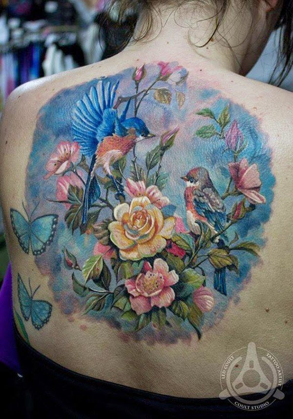 40 examples of beautiful and colorful tattoo designs for Sample of tattoo design