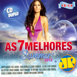 Baixar CD As 7 Melhores Summer 2013 Jovem Pan CD 01 Frente V.A   As 7 Melhores Summer: Jovem Pan (2013)