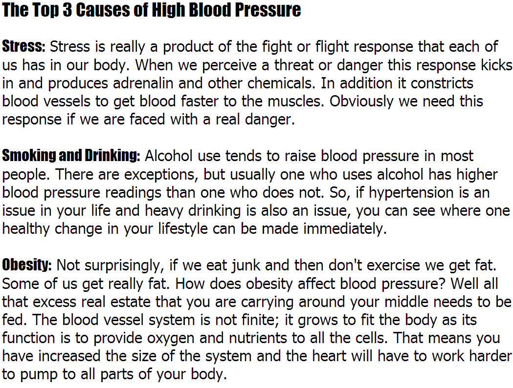 measuring and changing your blood pressure essay