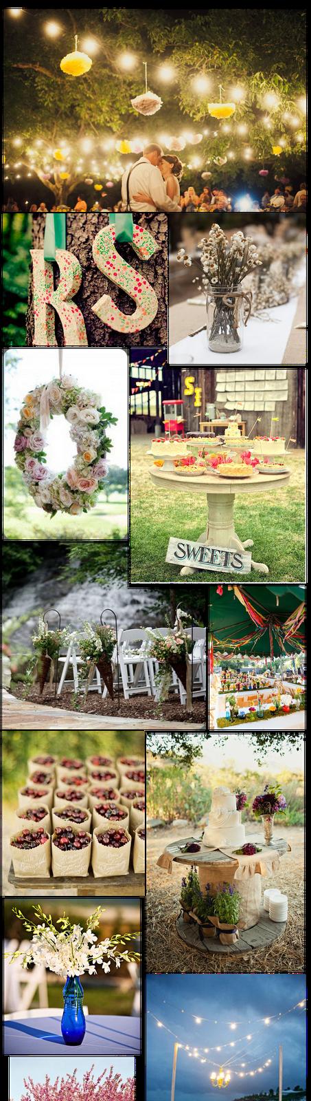decoracin bodas al aire libre