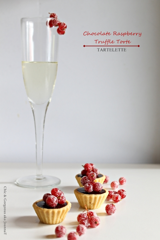 Chic & Gorgeous Treats: Chocolate Raspberry Truffle Torte Tart, from ...