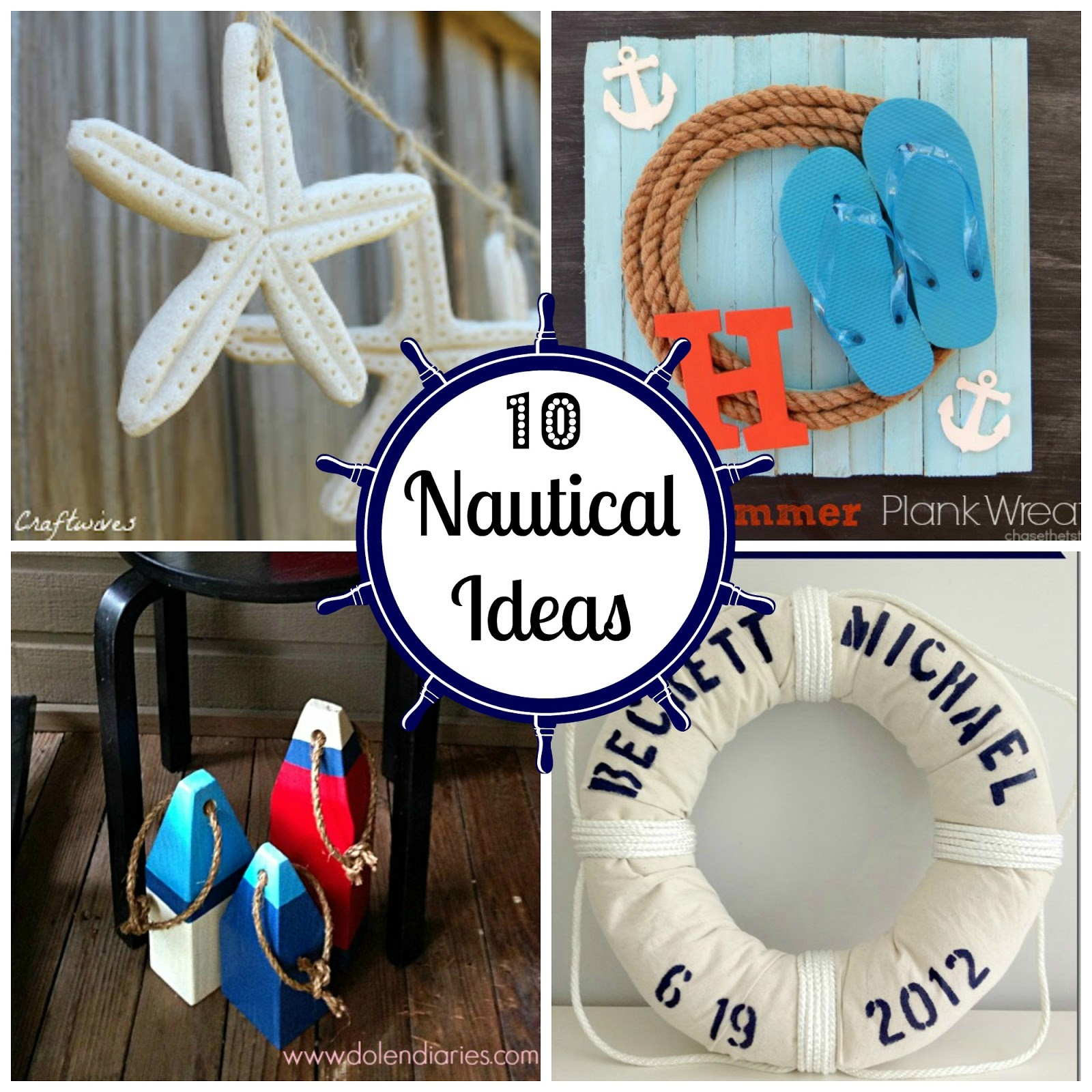 10 nautical ideas fun home things