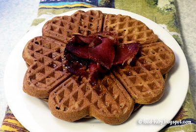 Pumpkin Spice Waffles © food-baby.blogspot.com All rights reserved