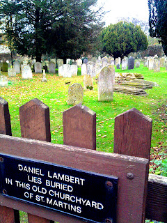 daniel lambert cemetery stamford