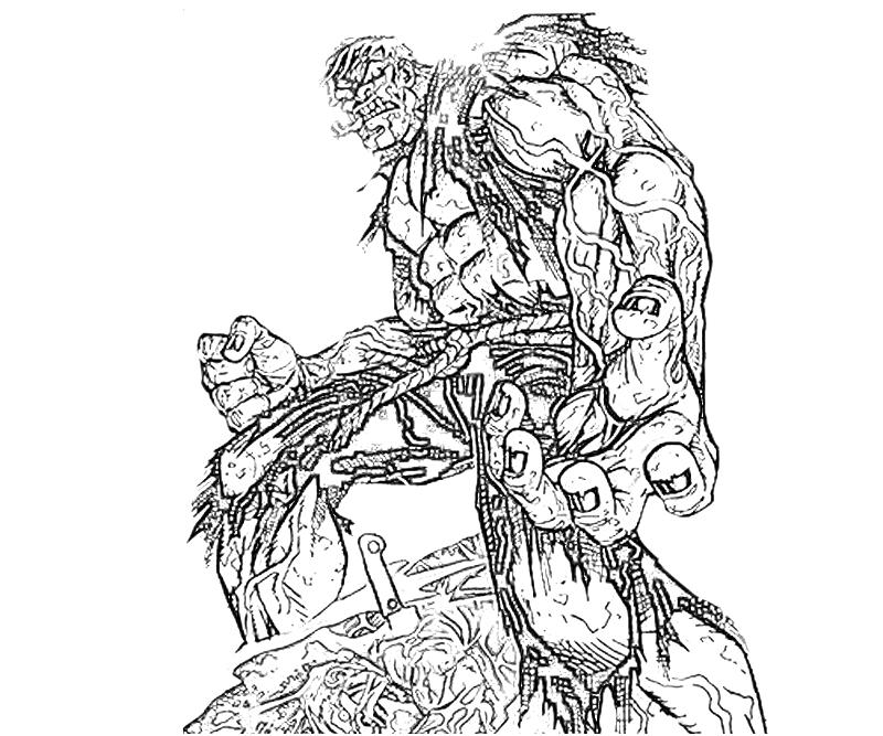 solomon grundy coloring pages - photo#8