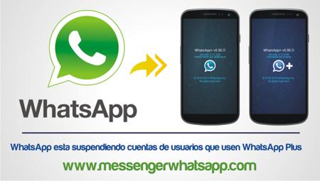 WhatsApp suspende cuentas de usuarios que usen WhatsApp Plus