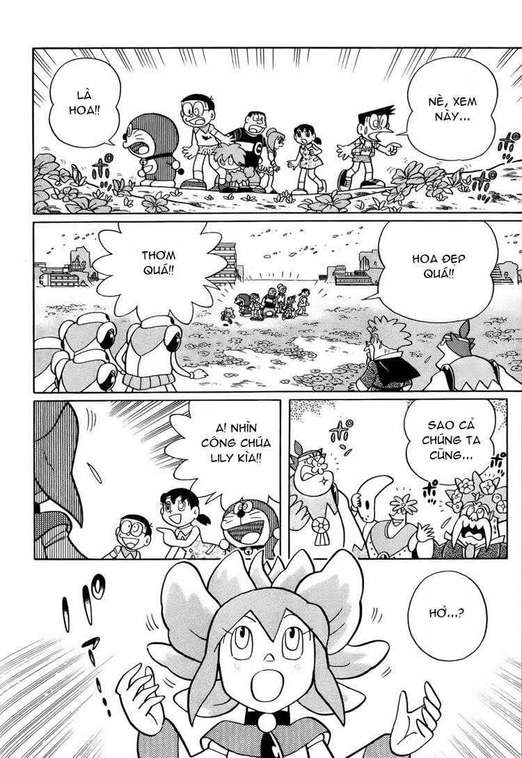 Truyện tranh Doraemon Dài Tập 25 - Nobita và truyền thuyết thần rừng trang 220