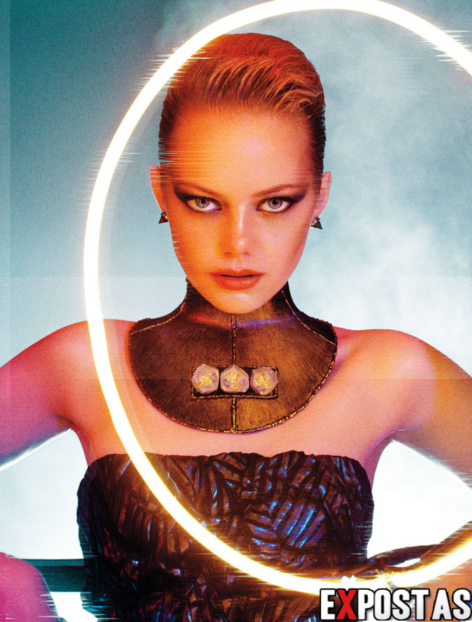 Emma Stone: Interview magazine photoshoot - Setembro de 2012