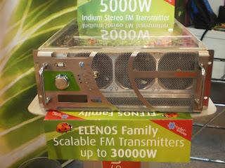 Pemancar fm Elenos ETG 5000