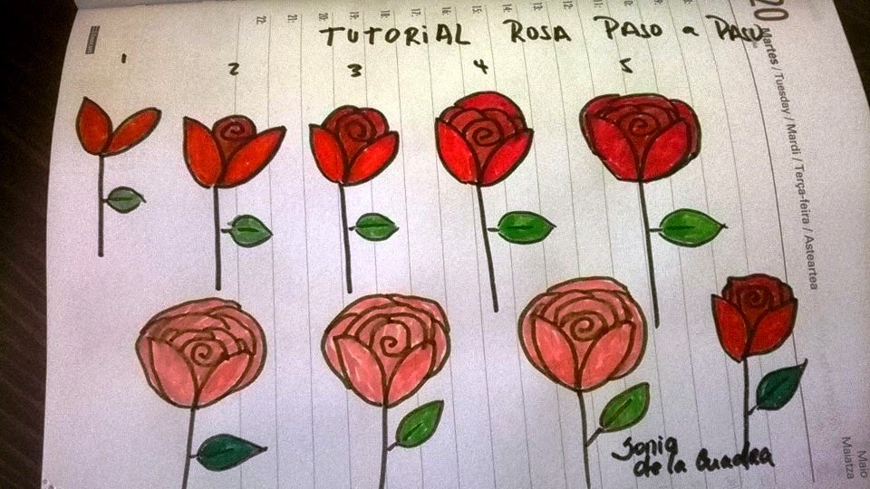 Imagenes De Flores Para Dibujar Paso A Paso - Tutorial paso a paso para tener uñas decoradas con Flores