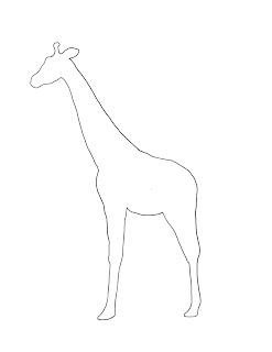 Art For Young Children Giraffe Spot Project