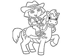 Dora Benny the Bull Coloring Pages
