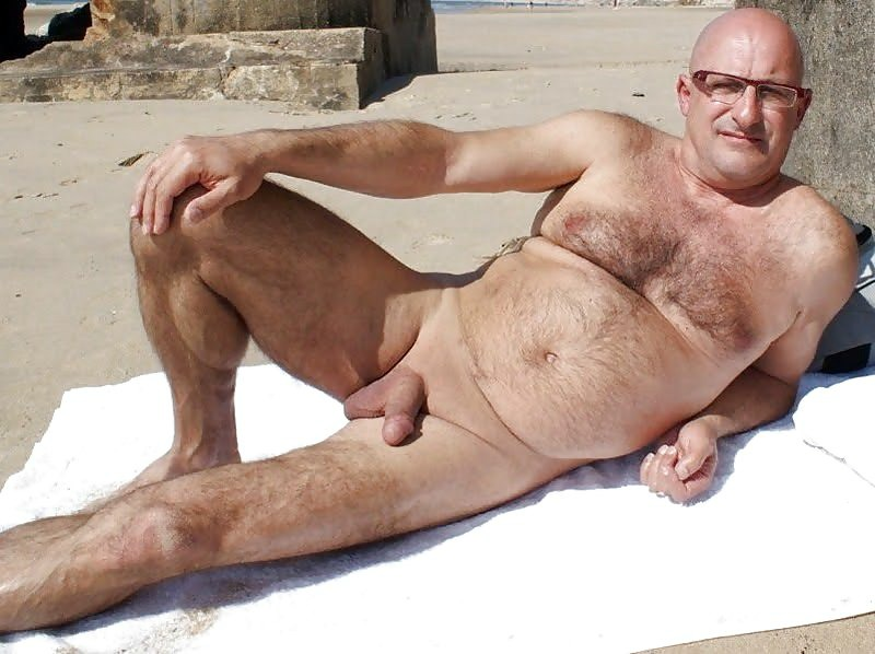 Naked Hairy Old Gay Grandpa