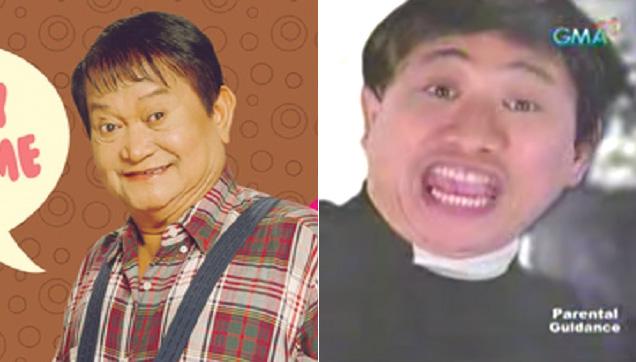 Yoyoy Villame and Bitoy as Father Yoyoy V