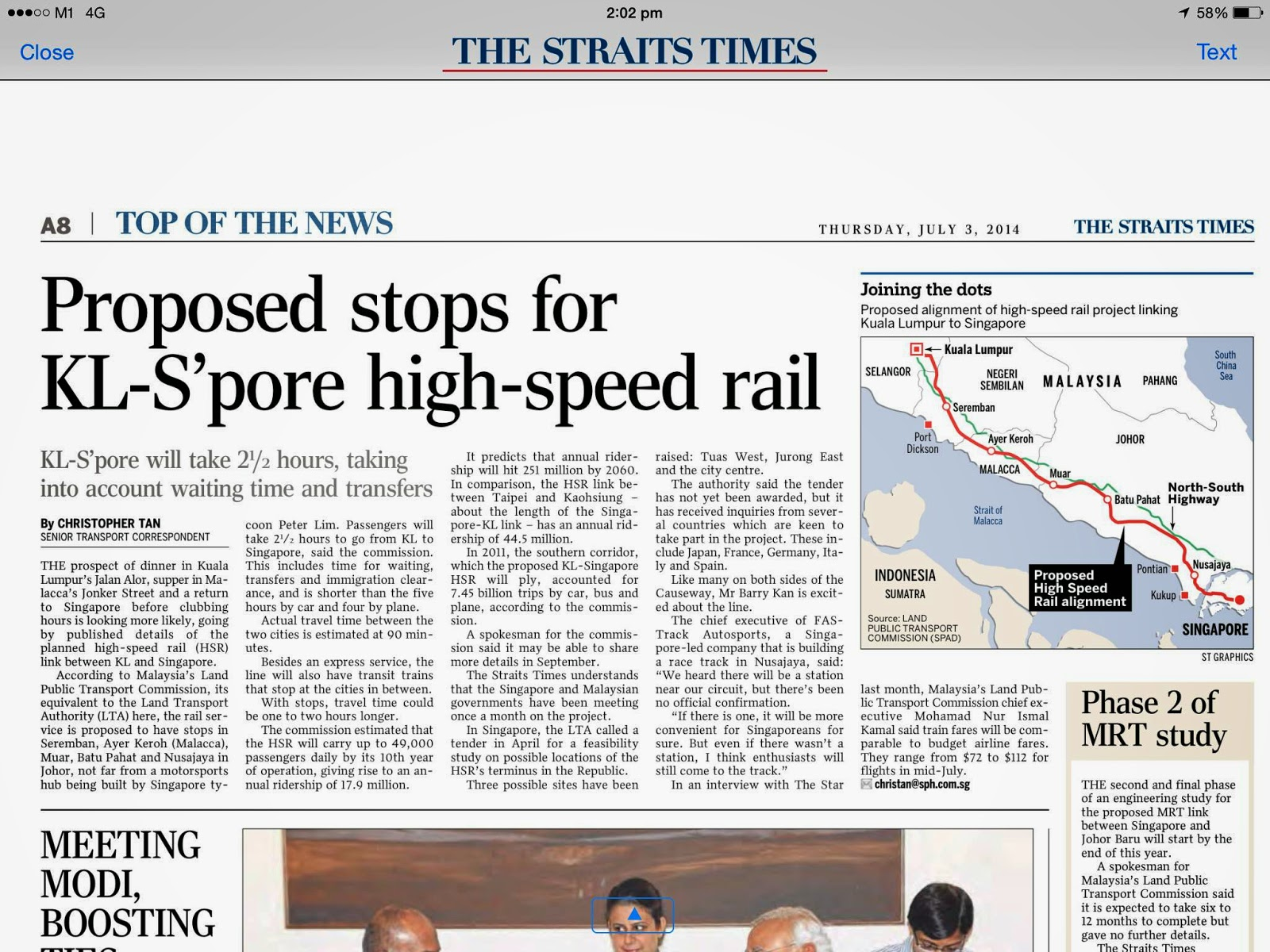 high speed train in malaysia A chinese consortium led by china railway corp will participate in bidding for a high-speed railroad linking singapore and malaysia in 2018, marking another step in china's ambitious strategy to export its high-speed railway technologies to southeast asia.