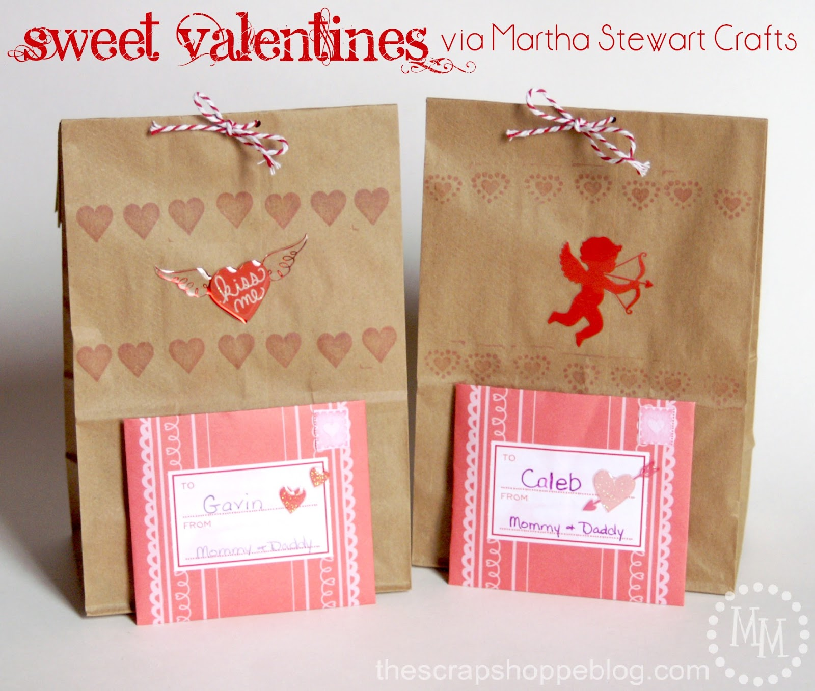 Sweet Valentines Martha Stewart Crafts The Scrap Shoppe – Martha Stewart Valentines Day Cards