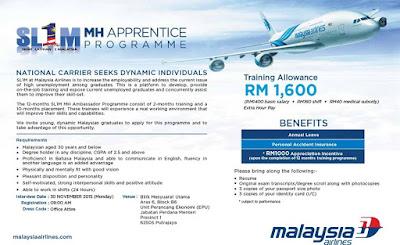Kerja Kosong Malaysia Airlines Berhad