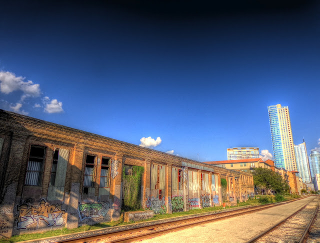 Abandoned Railway Warehouse - Downtown Austin - NE