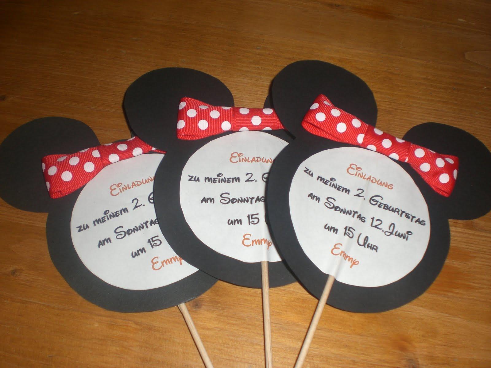 Natürlich gibt es für das Minnie Maus Geburtstagskind auch in diesem ...