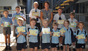 Junior School Assembly Awards