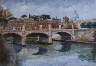 Puente de Sant'Angelo; Roma (10P)