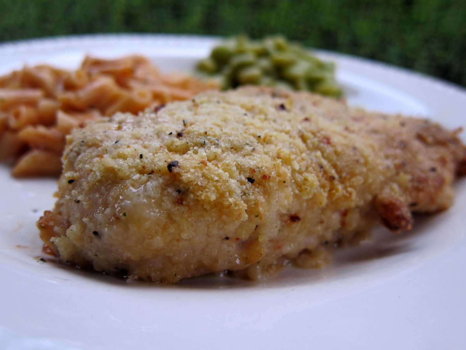 Easy Garlic Parmesan Chicken | Plain Chicken