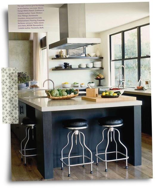 Kitchen Island Inspiration: Kitchen Inspiration