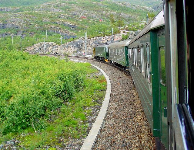 Our adventure onboard the Flåm Railway begins!