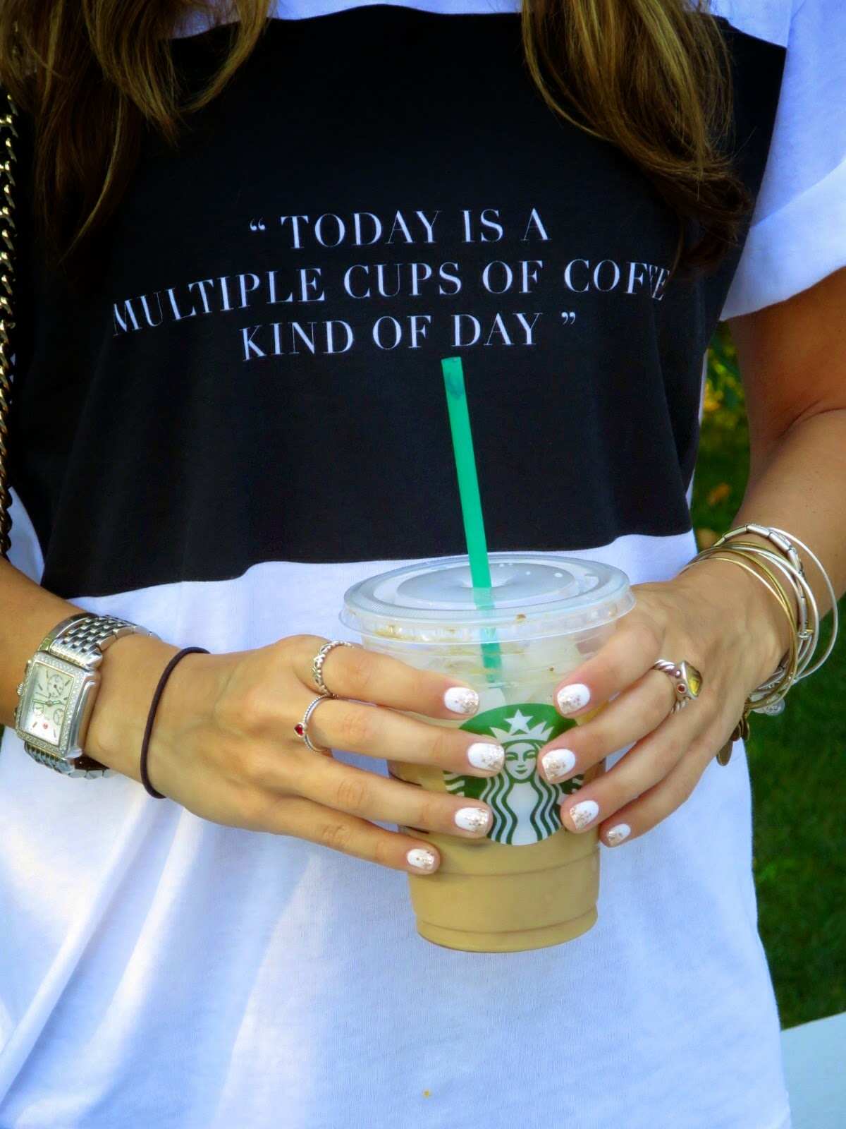 starbucks & jewelry