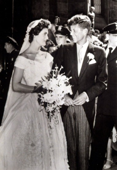 jackie kennedy style wedding dress. Jacqueline Bouvier#39;s wedding