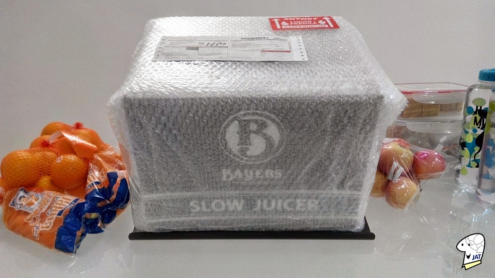 Bayers Dual Stage Slow Juicer, bubble wrapped