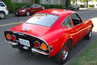 1970 Opel GT taillights