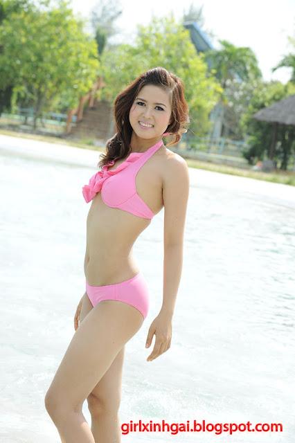 Hoa khôi áo tắm, miss bikini Vietnam, hình ảnh girl xinh bikini 12