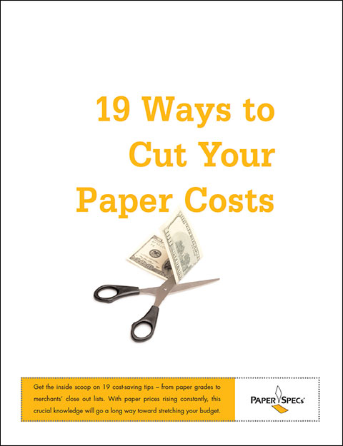 Free PDF Guide: 19 Ways to Cut Your Paper Costs