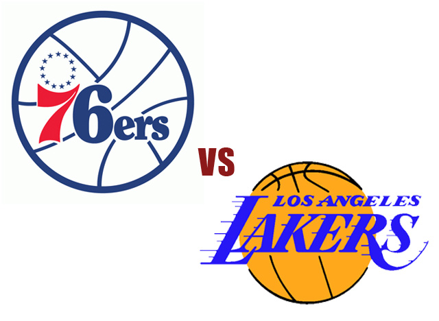 76ers vs lakers - photo #4